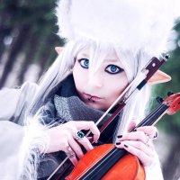 Зимний Эльф со Скрипкой :: Emerald (Анна) Weapon