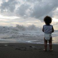 Малыш и море :: Anna Slobodyanik