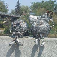 Памятник на набережной :: Полина Бородина