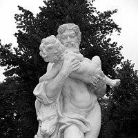 Скульптура во цверце короля Карла, Карлсруэ :: Оксана Ветрова