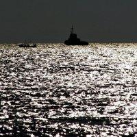 Вечернее чёрное море :: Анатолий Стрельченко