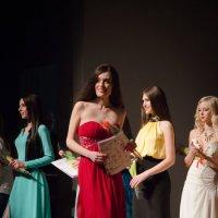 С церемонии награждения на конкурсе красоты Мисс Томск 2014 :: Владимир Белов