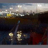 Вечернее освещение на Неве :: sv.kaschuk