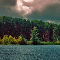 За городом чуть вдалеке прудик :: Олег Малянов