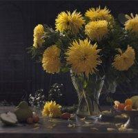Желтые хризантемы :: Татьяна Иванова