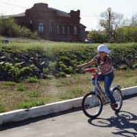 юная велосипедистка :: Юлия Мошкова