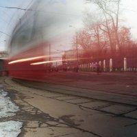 Трамвайный круг :: Александр Лебедев