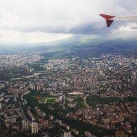 Под крылом самолета.... :: Елена Миронова