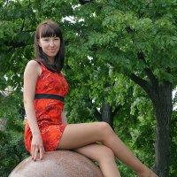 Девушка на шаре) :: Тарас Золотько