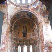 Богоматерь. Мозаика в Гелатском монастыре... :: Arusia Davrisheva