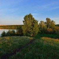 Вечерком на озере. :: Сергей Адигамов