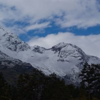 Только рядом с горами начинаешь понимать свой истинный масштаб... :: Сергей Кириллович Виноградов