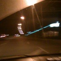 Ночной город. вид из авто :: Юлия Маслова