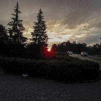 Закат над Полистью. :: Sergey Serebrykov