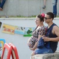 Счастлива, потому что беременна. :: Алексей Андреев