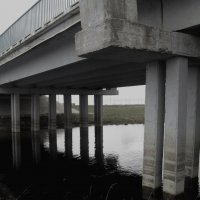 Под мостом река. :: Екатерина-капризная ))))