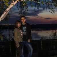 Вечер у реки :: Сергей Толчин