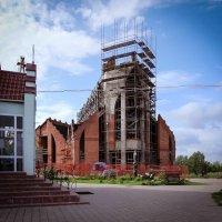 Костел Святого Иоанна Крестителя. Минск. Новостройка. :: Nonna