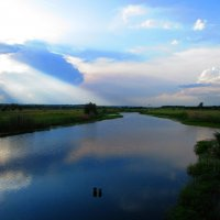 Облака в реке :: Marina Timoveewa