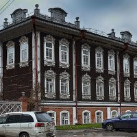 Деревянные дома. :: Sergey Kuznetcov