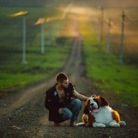 Человек и собака :: Ежъ Осипов