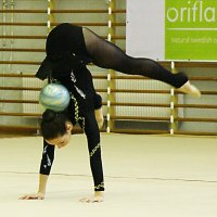 Упражнение с мячом. :: Лев Мельников
