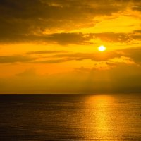 Закат. Белое море :: Сергей Кордумов