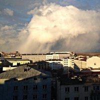 Снегопад на горизонте :: Юрий Кондратов