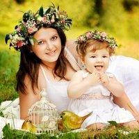 Мама и доча :: Анна Осипова