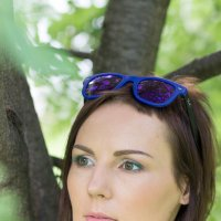 ♥♥♥ Любимая Аннушка... на прогулке ... ♥♥♥ :: Alex Lipchansky