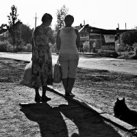 Ожидание автобуса :: Алёна Михеева