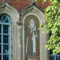 Мозаика на фасаде. :: Александр Качалин
