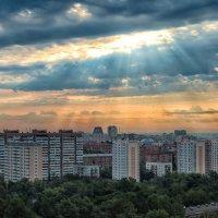 Вид из моего окна Москва утро 6.50 :: Светлана Гаевская