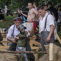 Обучение рекрутов в германском лагере :: Алексей Ярошенко