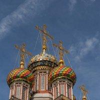 Купола Рождественской церкви :: Надежда Лаптева