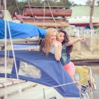 Прогулка на яхте :: Динара Тазетдинова