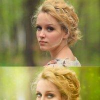 загадочная дева на прогулке (до и после) :: Veronika G