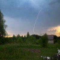 Пейзаж с грозой :: Алексей Окунеев
