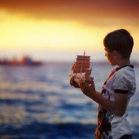О морях, о мечтах и мачтах... :: Марина Чурганова