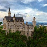 Вспоминая Баварию. Замок Новый лебединый камень. :: Petr Milen
