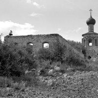 Турист на Спасе - Каменном :: Валерий Талашов