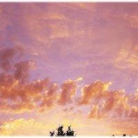 поезд из облаков :: Татьяна Бондаренко
