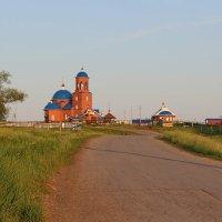 Церковь.с.Подлесное :: Алеся Алексеева