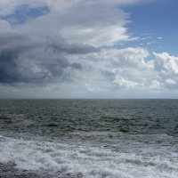 Там,где море с облаками.... :: Виолетта