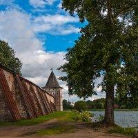 у стен Кирило-Белозерского монастыря :: Galina