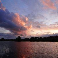 Шлейф закатных облачков. :: Антонина Гугаева