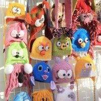 Выбираем шапочки...:)))) :: Марина Назарова