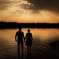 Прогулка на закате :: Дмитрий Мантуш