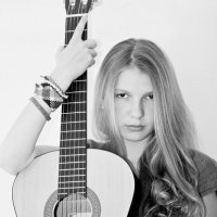 Girl with Gitar :: Elena Fokina