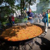 Приготовление паэлья! :: Николай